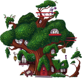 Tree Library for Daring Do the game