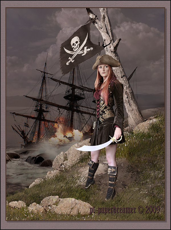 Piratess by PaperDreamerArt