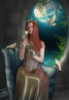 Castle of Dreams by PaperDreamerArt