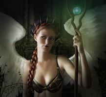 Goddess of Light by PaperDreamerArt