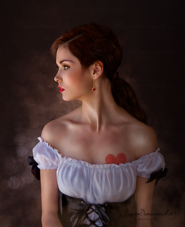 Hidden Heart by PaperDreamerArt