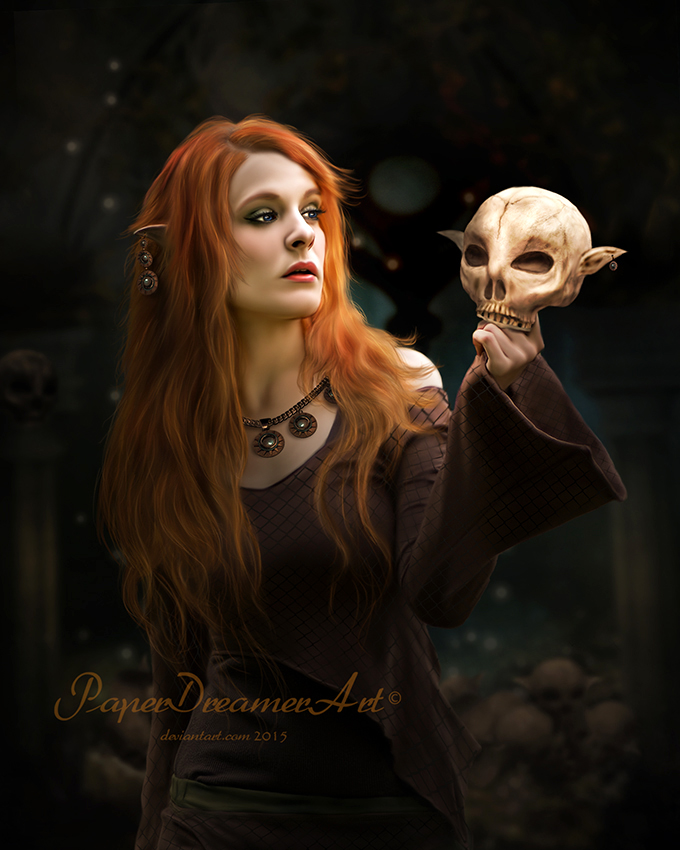 Elven Artifacts by PaperDreamerArt