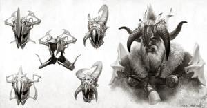 War King _ sketches
