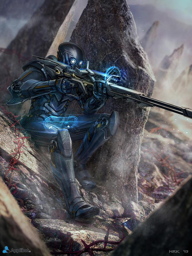 The Sniper by Bogdan-MRK