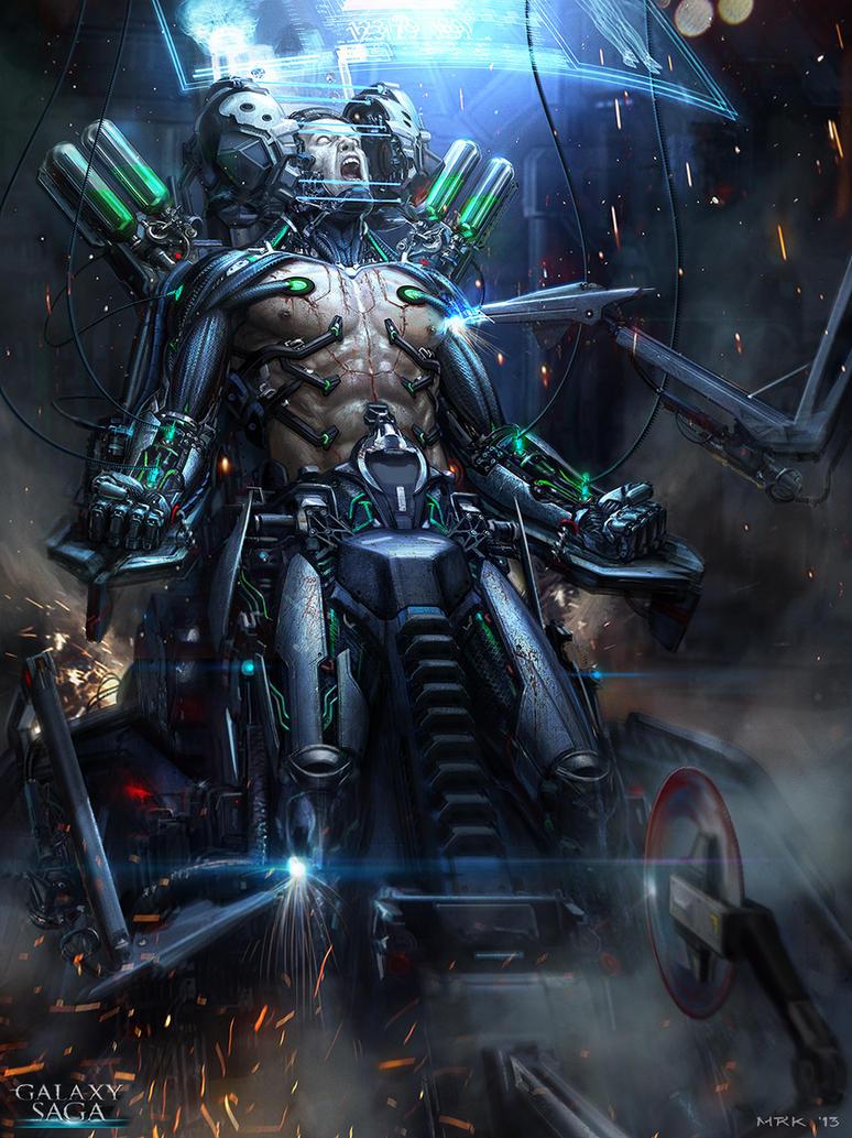 The Cyborg - basic version by Bogdan-MRK
