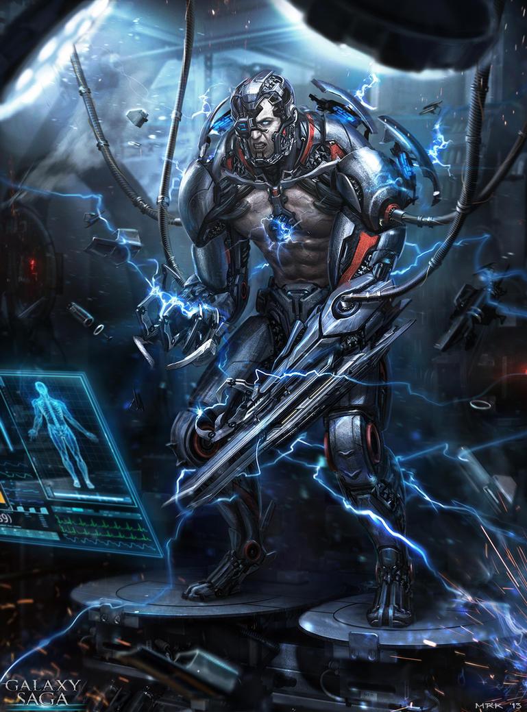 The Cyborg - advanced by Bogdan-MRK