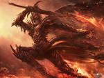 Hell Knight entering Heaven