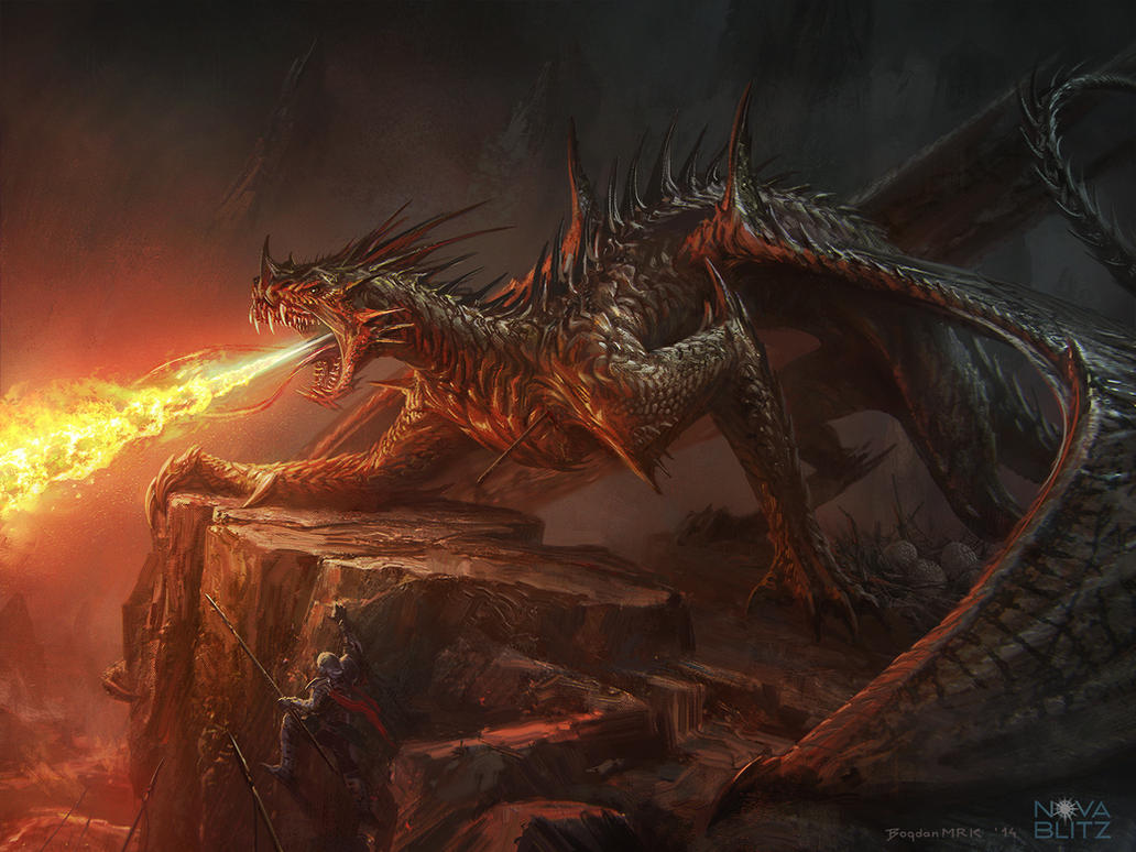 Bogdan MRK Demonic Dragon by Bogdan-MRK