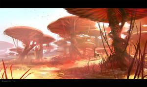 Mushroom Savannah