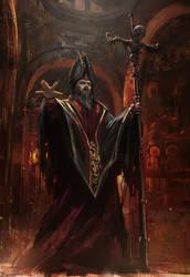 Undead Priest by Bogdan-MRK