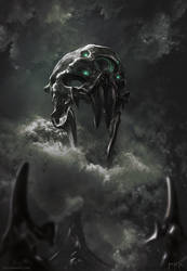 The Mask of Curses by Bogdan-MRK