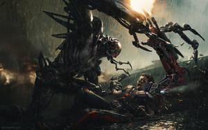 Cybernetic Fight Scene