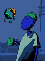 Kitchen UFO by m99art
