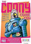 Canny Comic Con Robot Poster