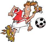 Cartoon Footballer