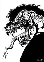 Dragon Sketch by m99art