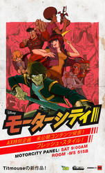 MOTORCITY ANIME EXPO 2012 FLYER
