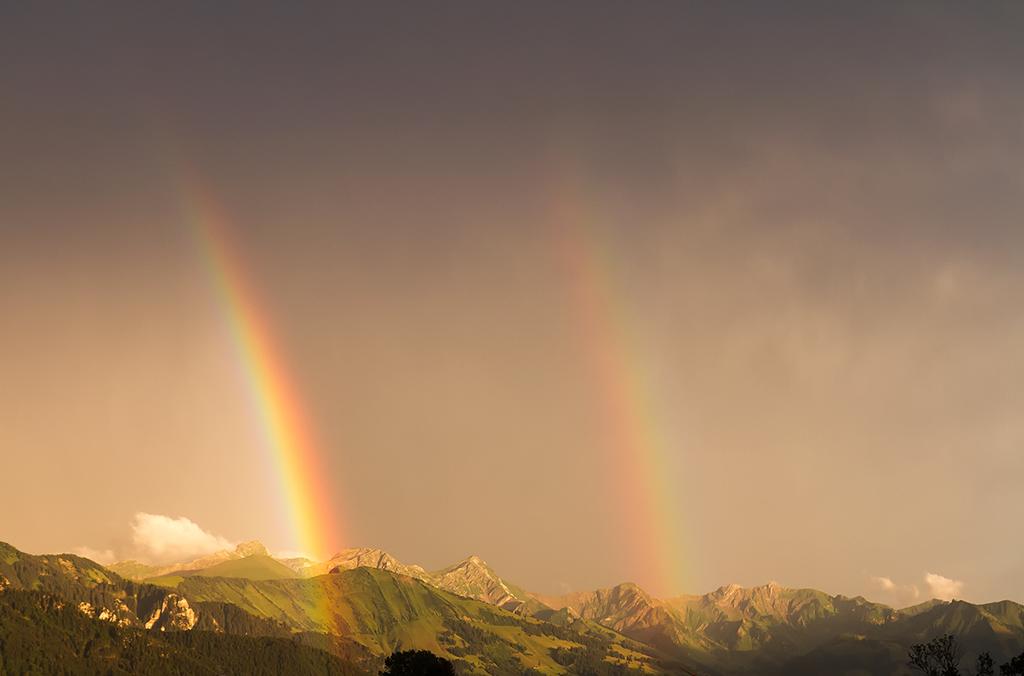 Arc-en-ciel sur les Vanils by Arafinwearcamenel