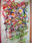 Drippy Circles by Flaffyfloo