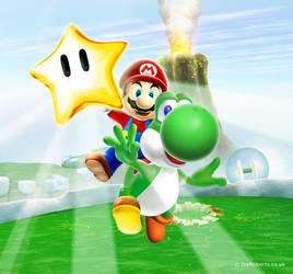 Mario by Joe-Roberts