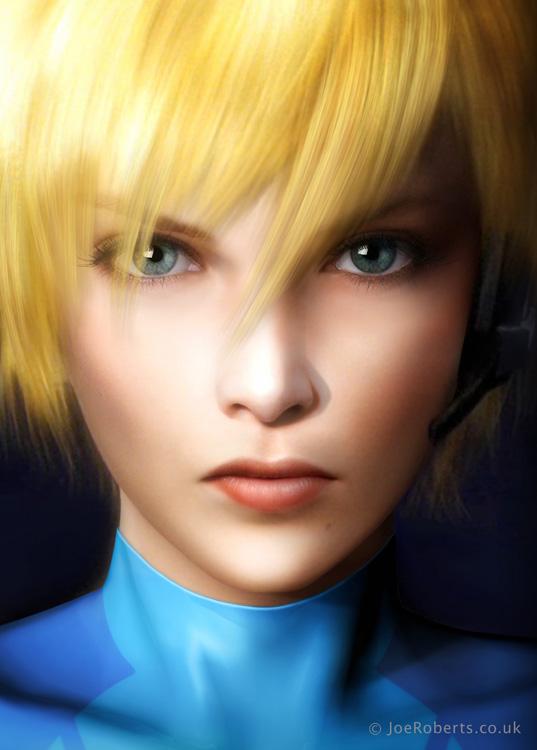 Zero Suit by Joe-Roberts