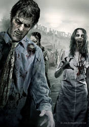 Dead Walking by Joe-Roberts