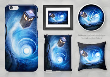 Doctor Who prints by Joe-Roberts