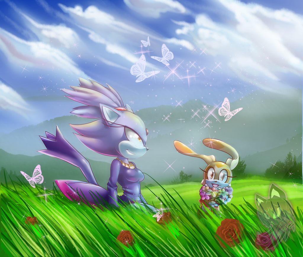 Blaze and Cream by Neyla-The-Lioness
