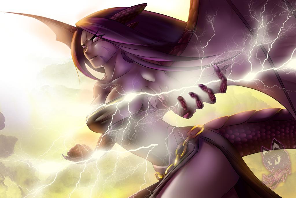 Neyla the Dragon by Neyla-The-Lioness
