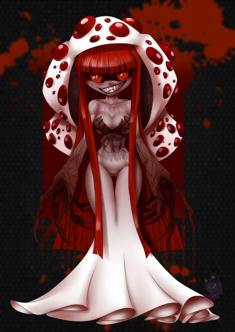 Bleeding mushroom by Neyla-The-Lioness