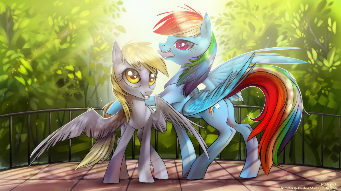 CM: Derpy and Rainbow by Neyla-The-Lioness