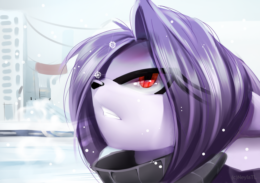Sketch - Winter by Neyla-The-Lioness