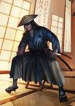comm: L5R Kuni Samurai