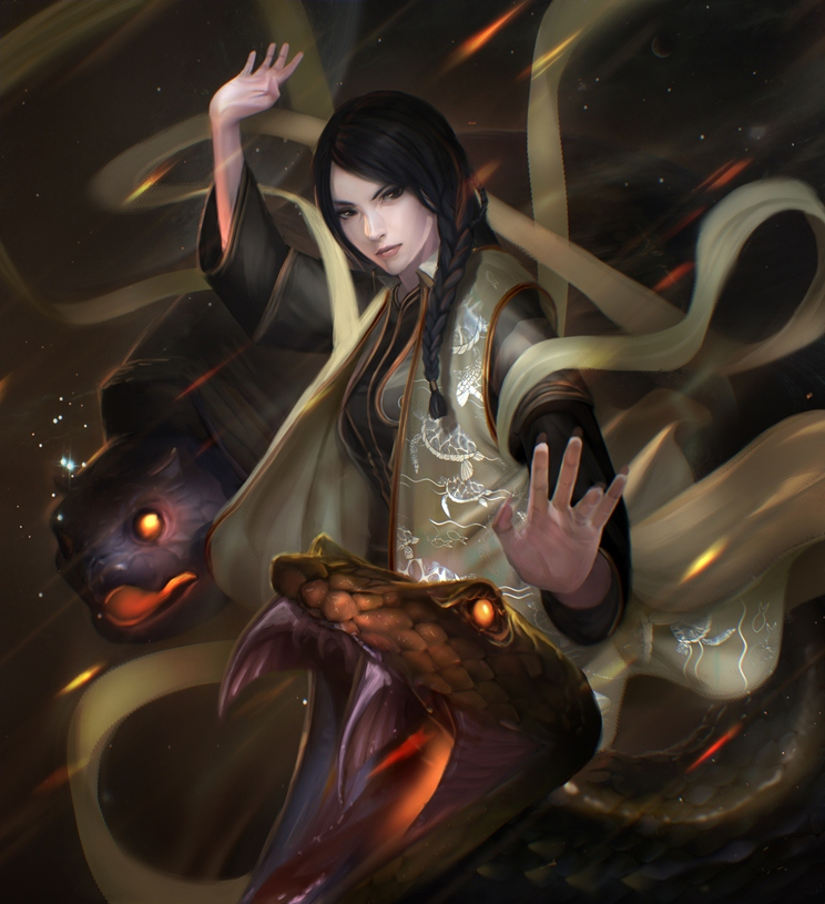 Black Tortoise zhi ming by unrealsmoker