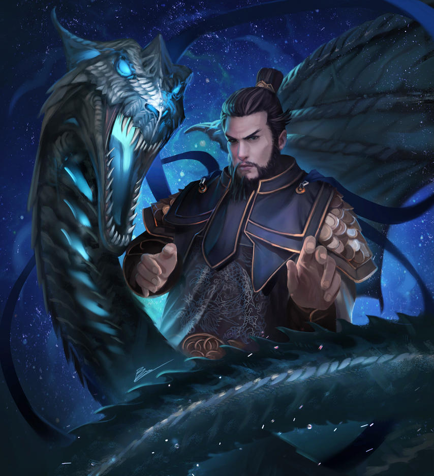 azure dragon by unrealsmoker