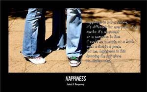 Happiness by allaroundmyself