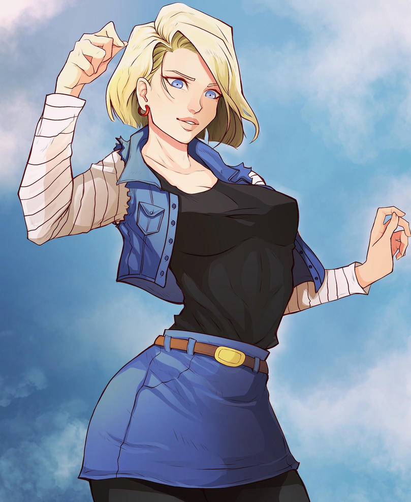 Android18 By BlueDemon4 On DeviantArt