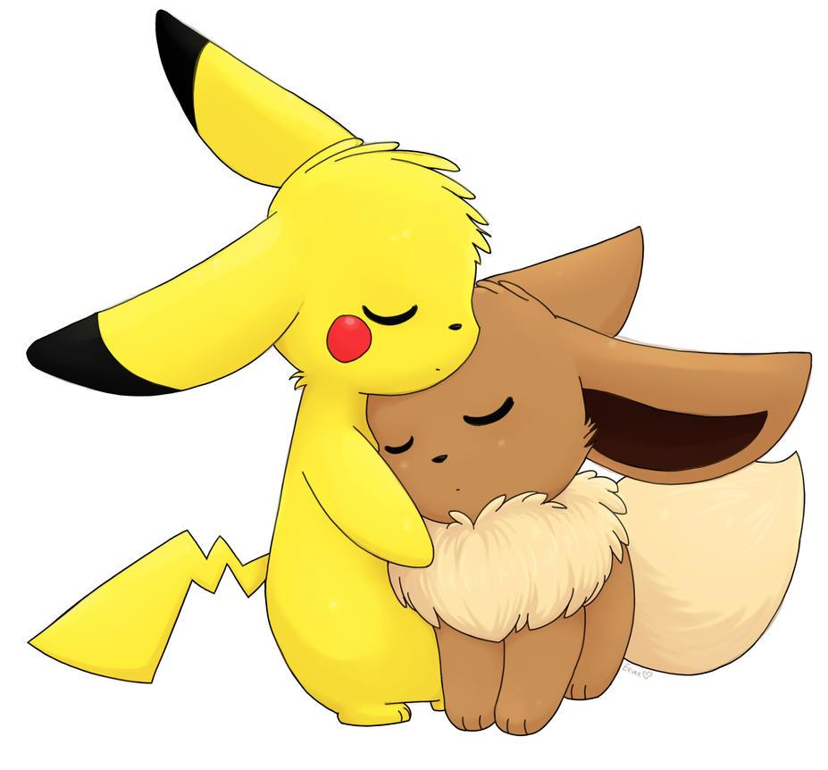 Pikachu and Eevee by tymib12 on DeviantArt  Pikachu and Eev...