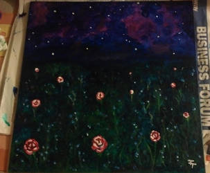 The Field of Night-blooming Flowers by adrasteia1