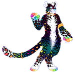 Rainbow Leopard Custom!