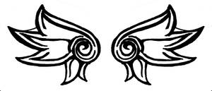 Wing Tattoo by NeptunesQueenBee