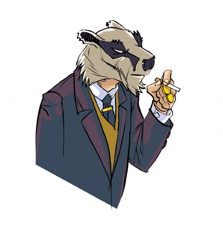 Badger 02 by OliverHarud