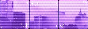 Sad City // Purple city divider