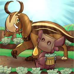 [Wyngro] Mono's Quest: Wynsiph Farms by AuroraTheTinyDragon