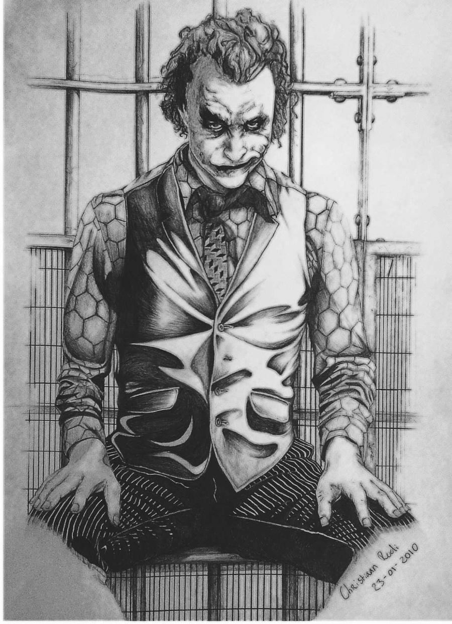 Cool Drawings of Joker... Easy Gangster Joker Drawings