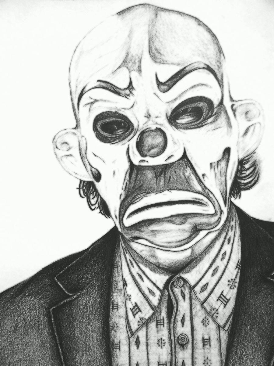 Joker Scribble Drawing : What do you believe in by christiaanr on deviantart