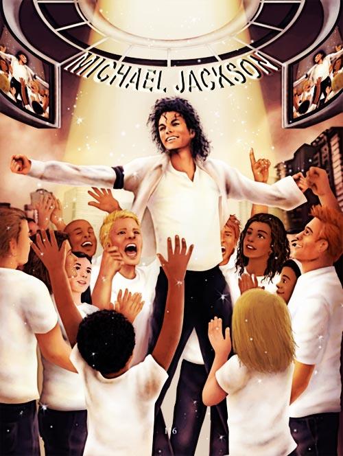 Michael Jackson by Zhu2hui