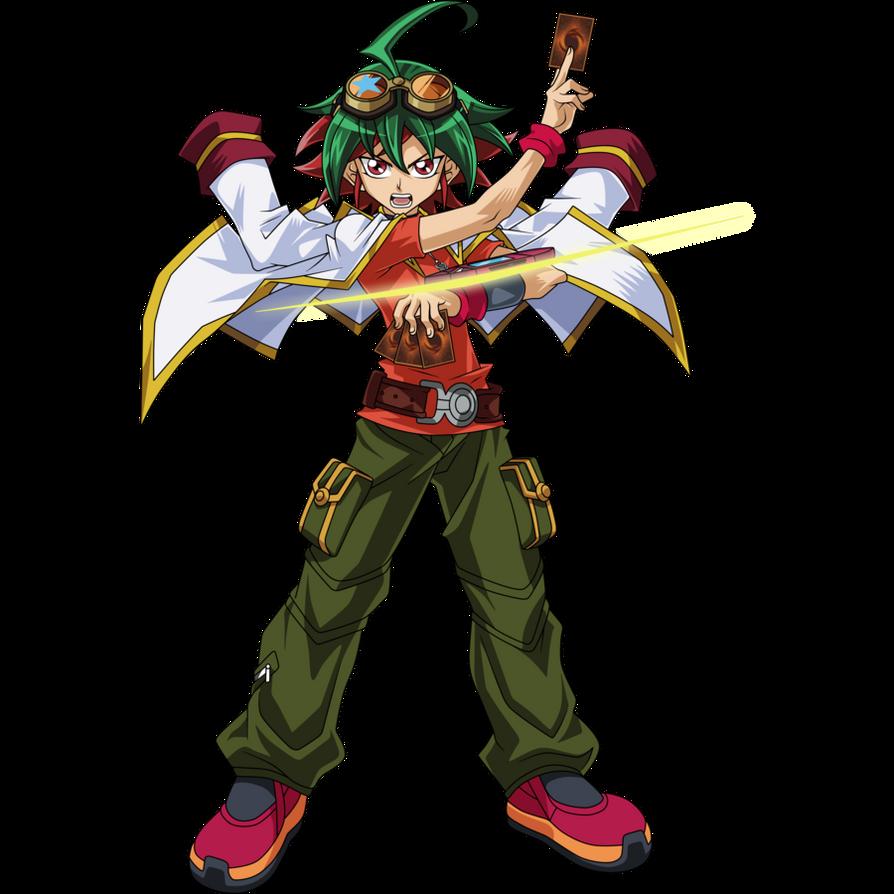 Yu Gi Oh Arc V Sakaki Yuya Render By Raidengtx- By Semtot