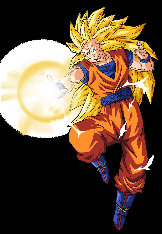 Goku Super Saiyajin 3 By Cruzazul On Deviantart