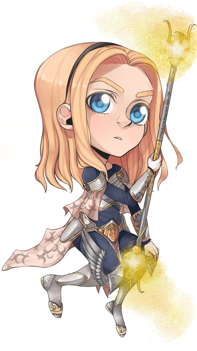 Lux - LoL by maa-chaan